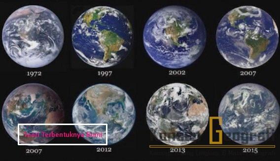 Teori Terbentuknya Bumi