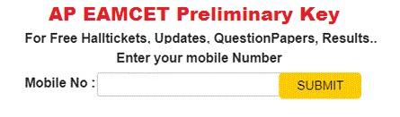 AP Eamcet Preliminary Key 2018