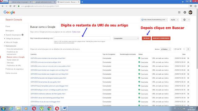 Indexar artigos no google - Dicas Marketing - Marketing Digital