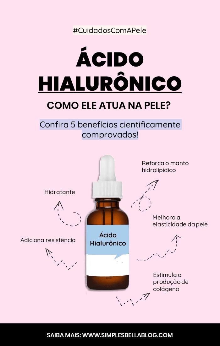 O que o Ácido Hialurônico faz na pele? Conheça 5 benefícios cientificamente comprovados!