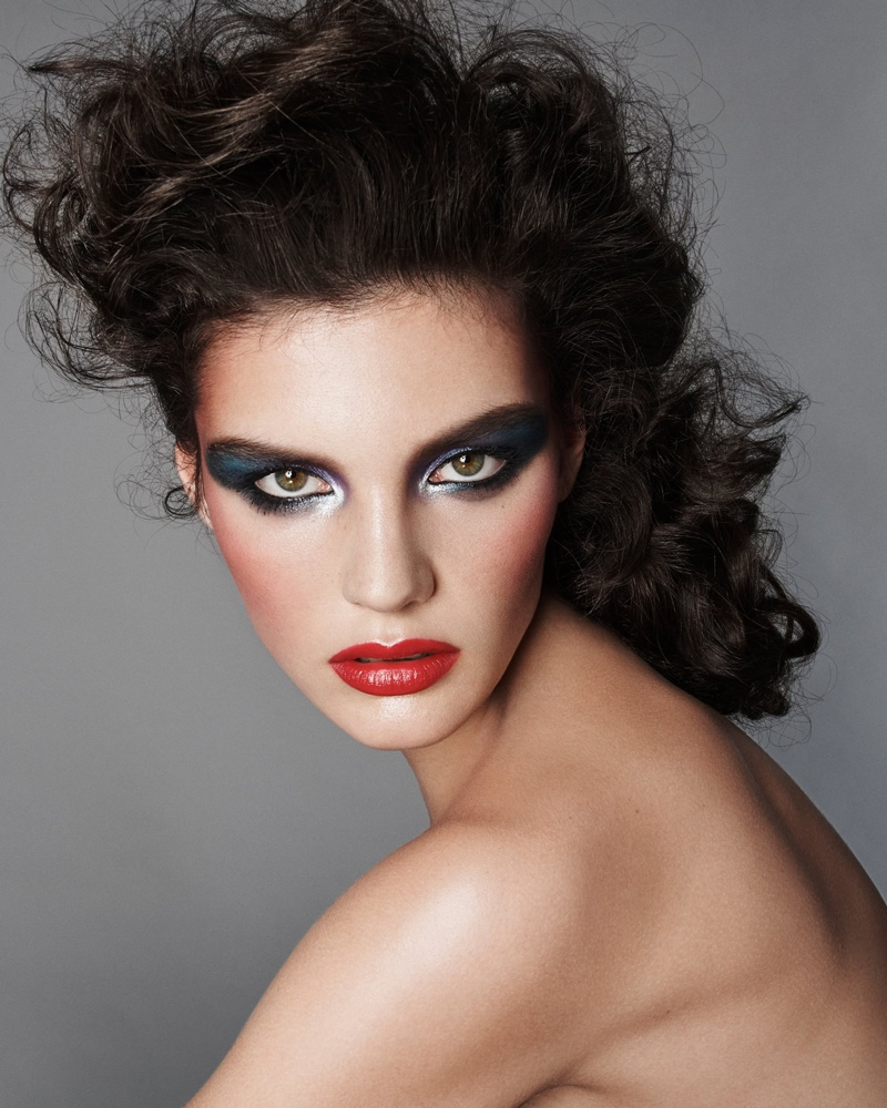 Lola Nicon appears in Zara Beauty campaign.
