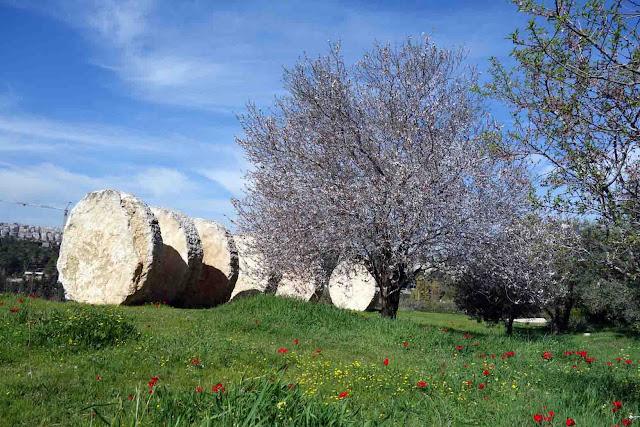 Negev - Magdalena Abakanowicz - Jardin Billy Rose - Musée d'Israël - Jérusalem