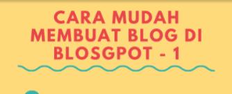 Materi Ketiga Blogspedia Coaching Tentang Membuat Blog