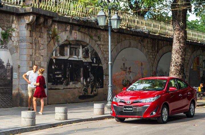 Giá xe ô tô Toyota mới nhất tháng 6/2020: Duy trì ưu đãi phí trước bạ