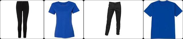 siyah-pantolon-ustune-ne-giyilir-mavi-renk-tisort-bayan-ve-erkek