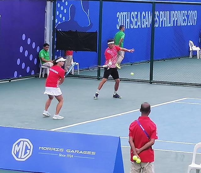 Tenis SEA Games: Beatrice/David Agung Hadapi Unggulan Kedua di Semifinal, Ini kata Bea...