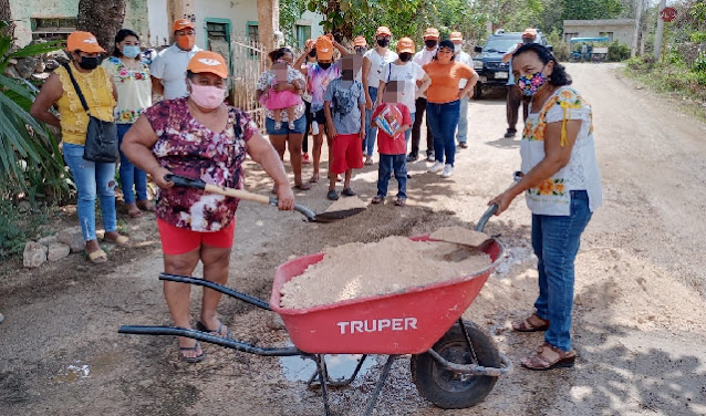 Trabajando junto a la ciudadanía, inician campañas federales de Movimiento Ciudadano en Yucatán