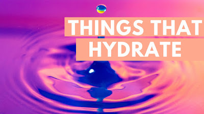 things that hydrate to keep cooler with rosacea