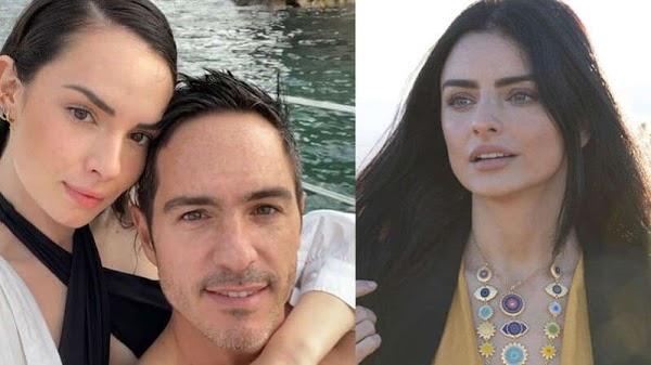 Mauricio Ochmann ya coqueteaba con su novia estando con Aislinn, lo tunden en redes