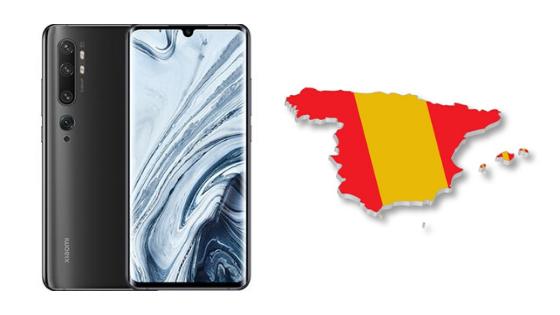 Xiaomi Mi Note 10 em boa oportunidade em Espanha!