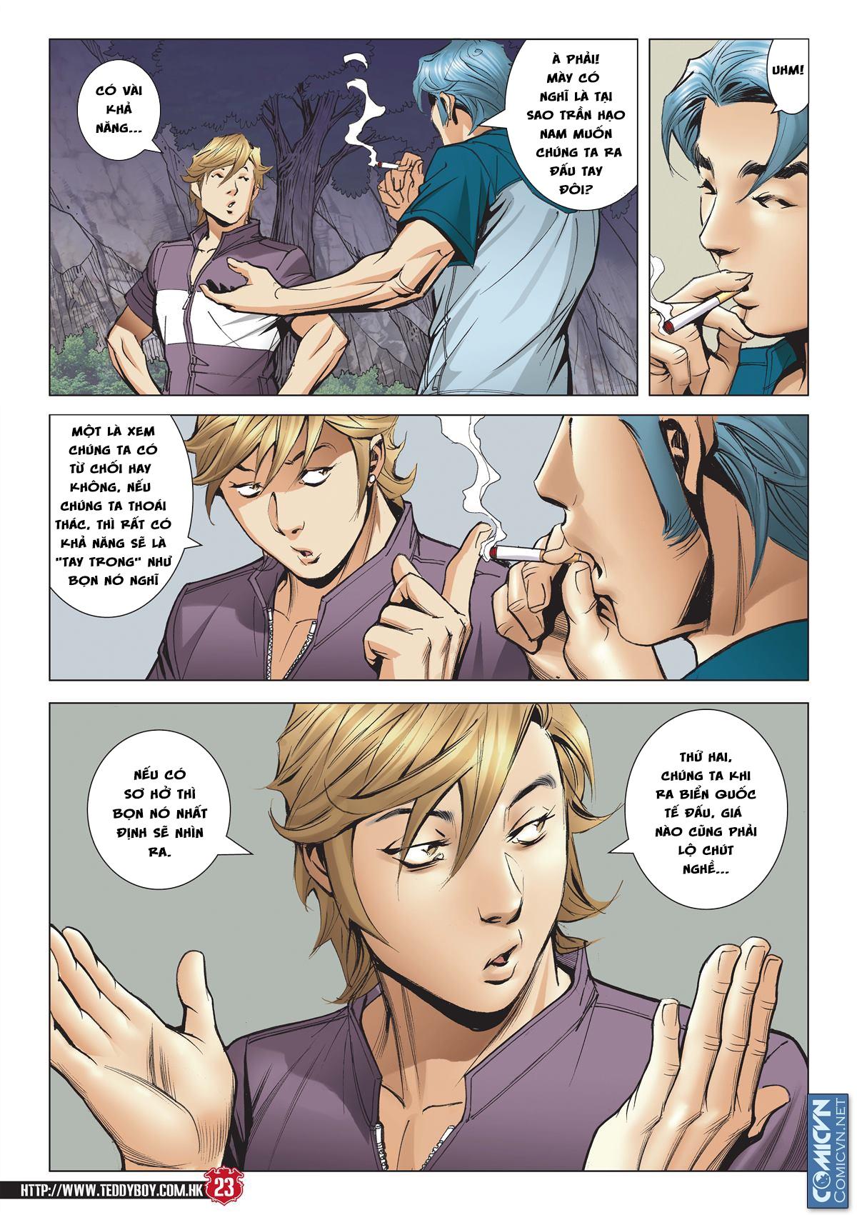 Người Trong Giang Hồ chapter 2127: thế đạo bất công trang 23