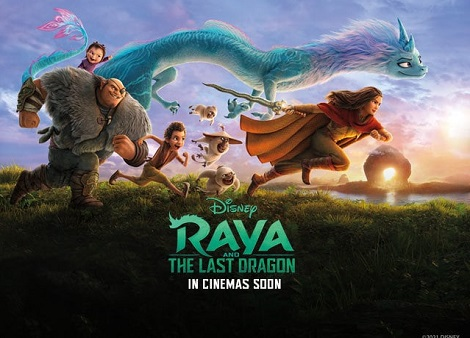 Download Raya and the Last Dragon (2021) ORG Untouched DDP5.1CH 192Kbps Hindi Audio 148MB