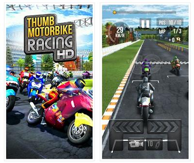 Thumb Motorbike Racing HD Android