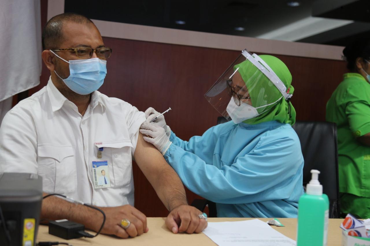 BP Batam Laksanakan Vaksinasi Untuk Pegawai