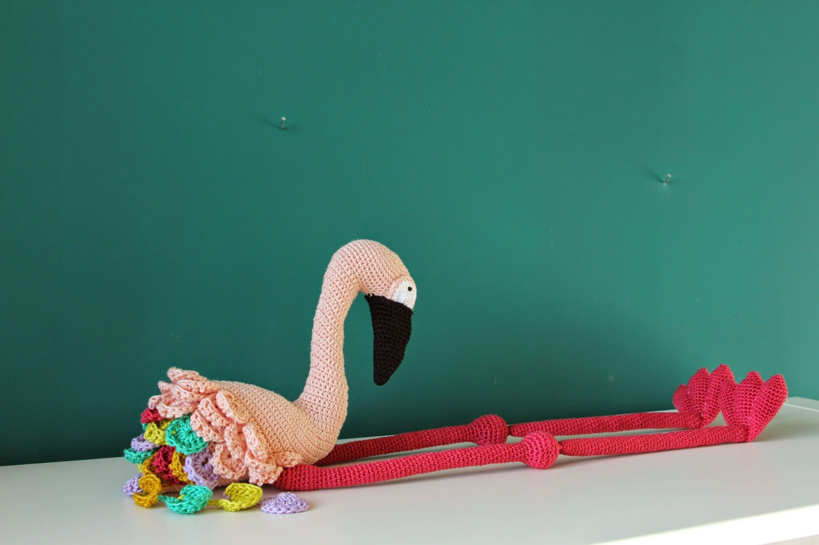 Thuis Is Waar We Haken Flamingo