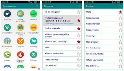 Aplikasi Belajar Bahasa Jepang - 1