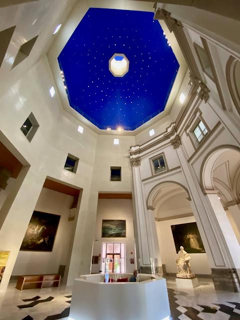 Entrance foyer of the Museo de Bellas Artes, Valencia, Spain