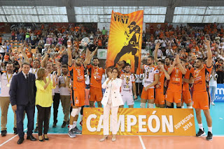 VOLEIBOL - El CV Teruel defendió la Supercopa de España en casa