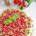 Ciasto ze szpinakiem, granatem i mascarpone wg 5 Przemian