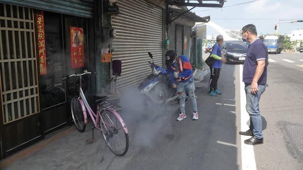鹿港鎮全區環境消毒噴藥 消滅孑孓防止登革熱侵害