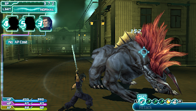 Game PSP RPG Crisis Core: Final Fantasy VII