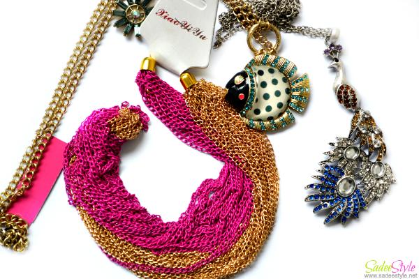 Fashion Jewellery haul 2014!