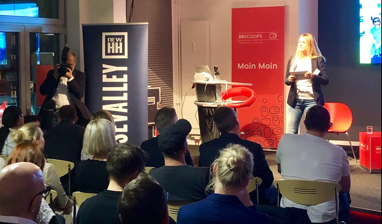 HANSEPARTNER: Hackers+Founders@work 30.10.19