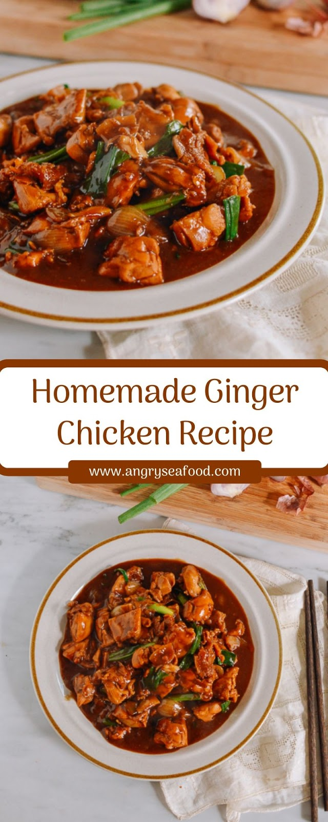 Homemade Ginger Chicken Recipe
