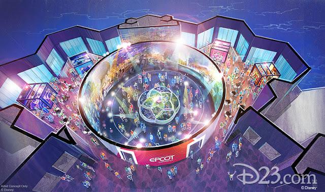 D23 Expo 2019 Disney Parks, Epcot