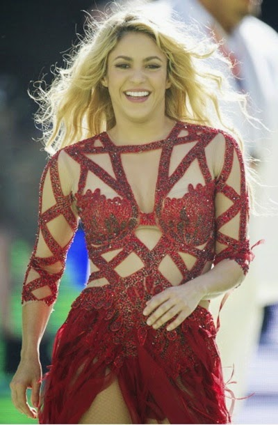 Newportal 13 Shakira S World Cup Song La La La