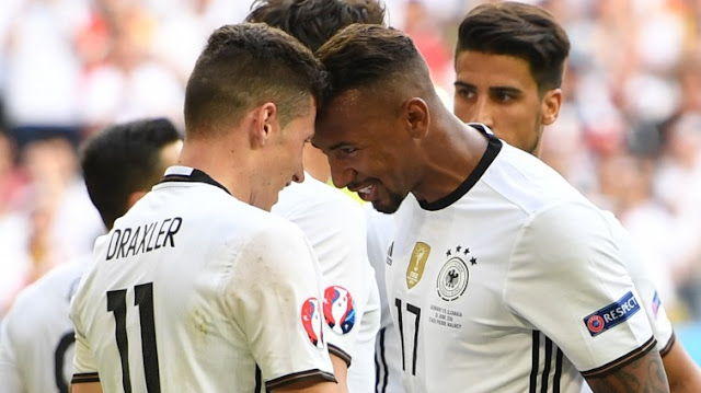 Julian Draxler Jerome Boateng Allemagne Euro 2016
