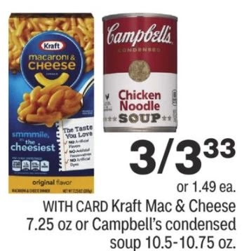 Kraft Mac & Cheese CVS Deals