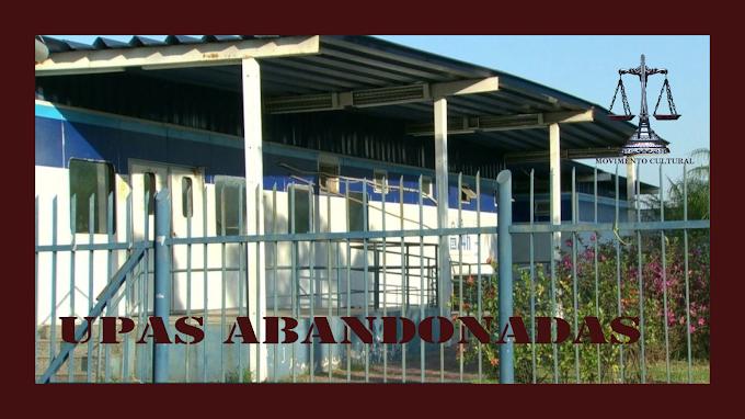 UPAS ABANDONADAS EM RECIFE, INVESTIMENTO DE R$ 12.250.000