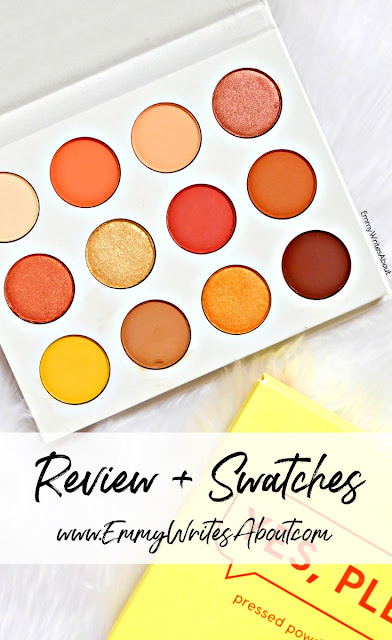 ColourPop Yes Please Eyeshadow Palette Review and Swatches