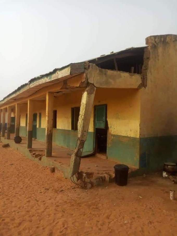 Poor structured primary school in Kebbi