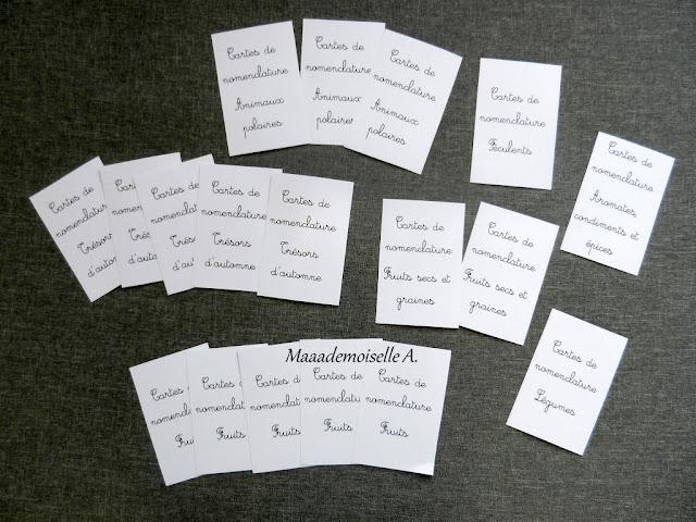 || Mise à jour des cartes de nomenclature - Verso