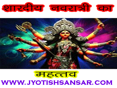 shardiya navratri 2019 and jyotish