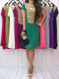 Dress Sifon fit to L