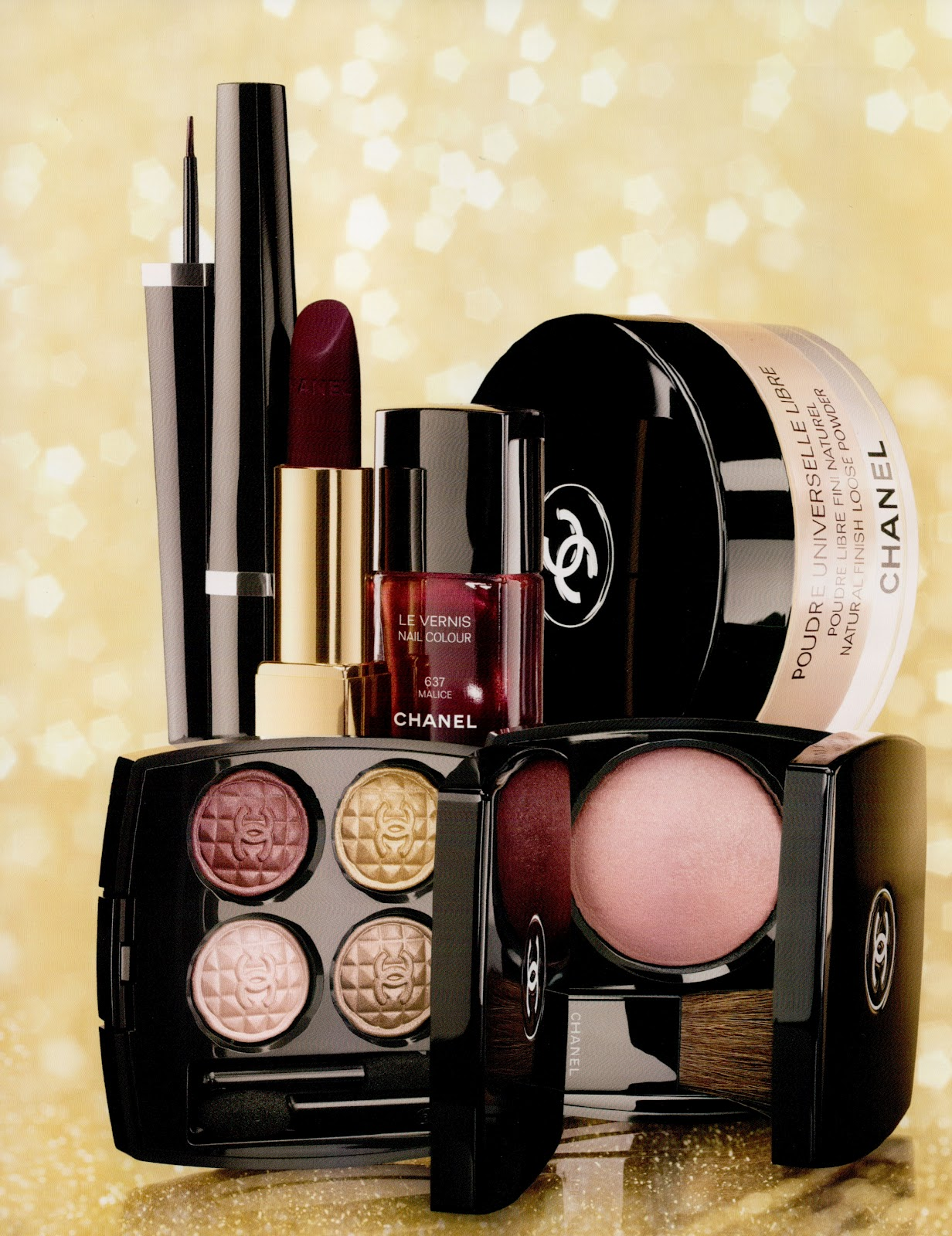 Chanel Makeup Brushes New Design: Beauty Of Interest: Chanel Eclats Du Soir De Chanel