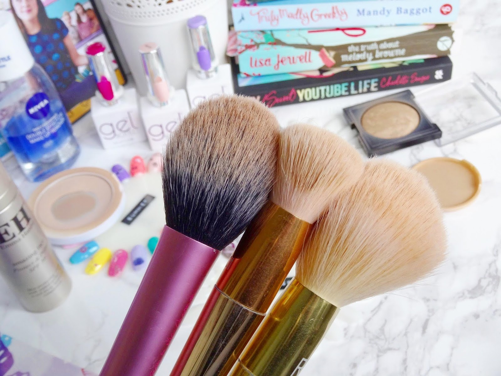 Washing Real Techniques Makeup Brushes