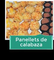 CÓMO HACER PANELLETS DE CALABAZA