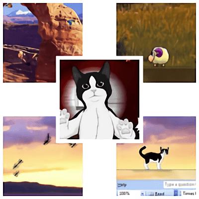 Máy tính thêm sinh động với bộ sưu tập vật nuôi trên Desktop-Pet collection on Desktop