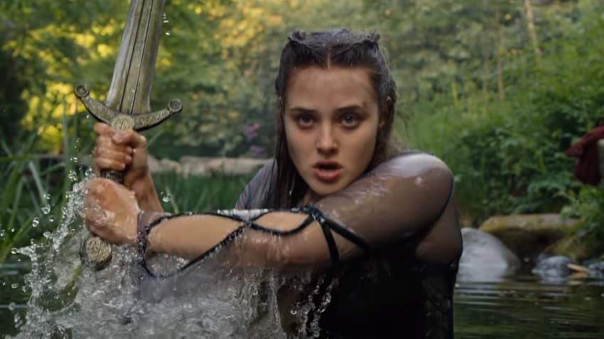 Netflix показал трейлер сериала «Проклятая» - пародии на легенды о короле Артуре
