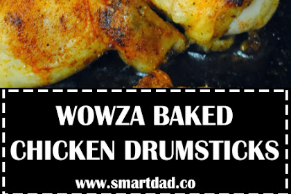 WOWZA BAKED CHICKEN DRUMSTICKS