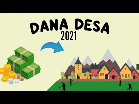 Fokus Prioritas Penggunaan Dana Desa Tahun 2021