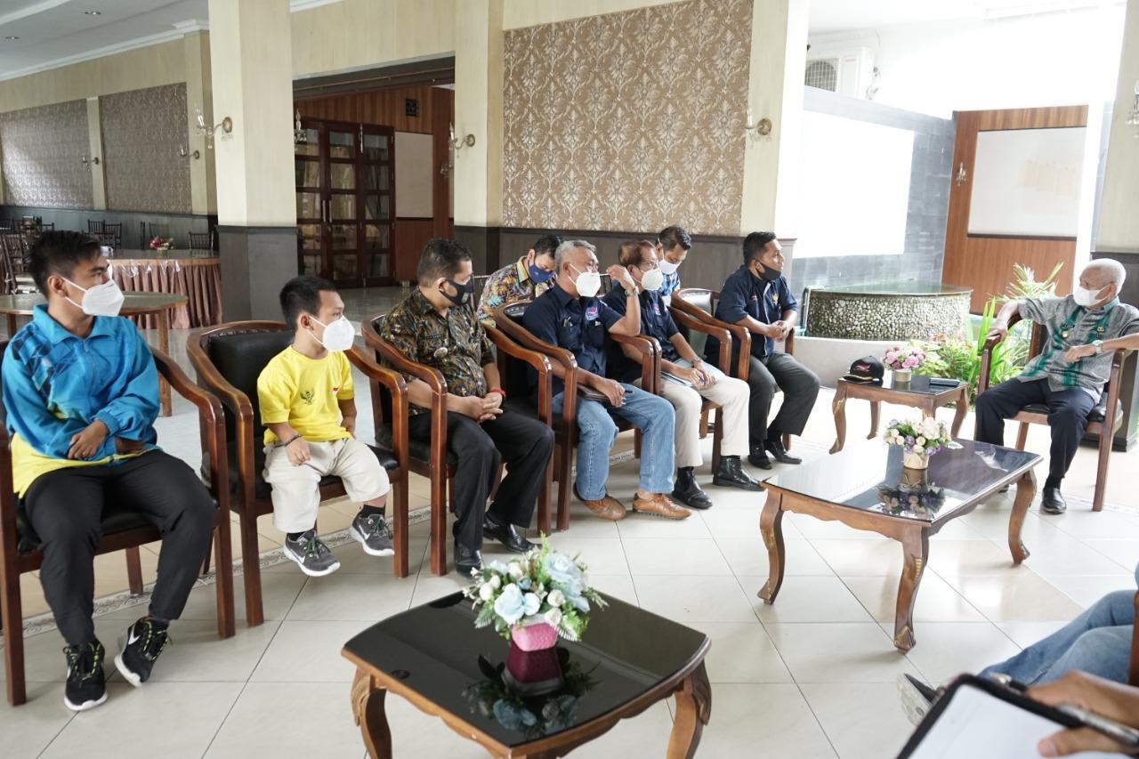 NPC Kabupaten Asahan Tergetkan Atlet Disabilitas Mayoritas Mewakili Sumut Mengikuti Pekan Paralimpik National 2024