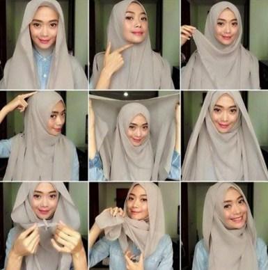 Tutorial Hijab Simple Untuk Tunjang Aktifitas Harian kamu
