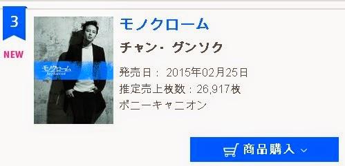 The Eels Family: [News] Jang Keun Suk 3rd album 'Monochrome