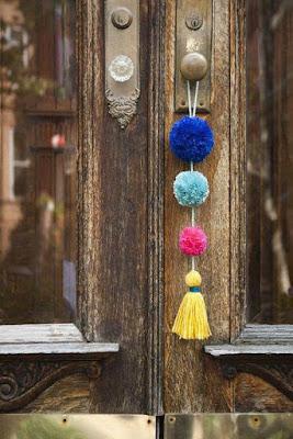 Decoração com Pompons - Customize sua casa