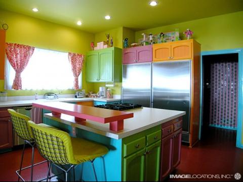 Decoração super colorida